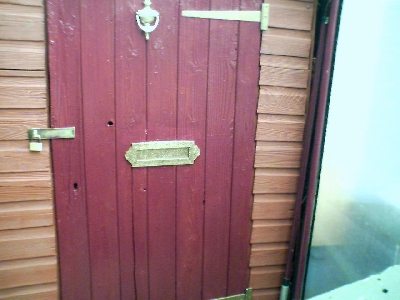 Yes...its the shed door!!!!!