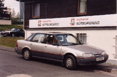 The Rover at the Nurburgring